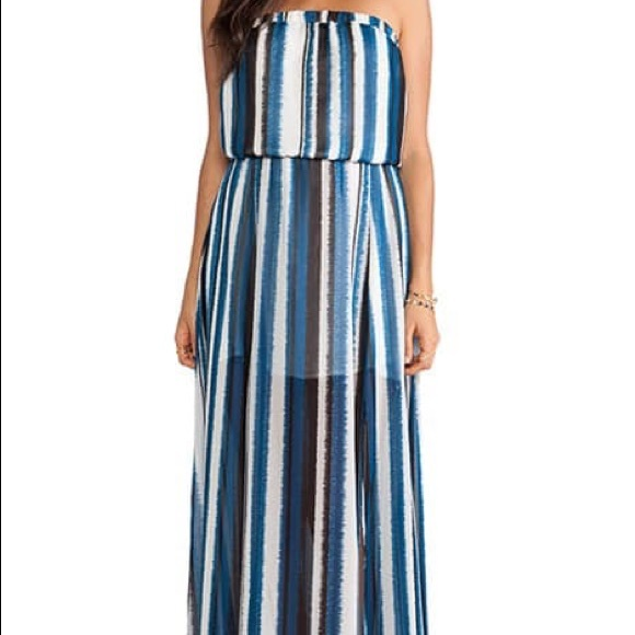 BB Dakota Dresses & Skirts - BB Dakota Striped Maxi Dress